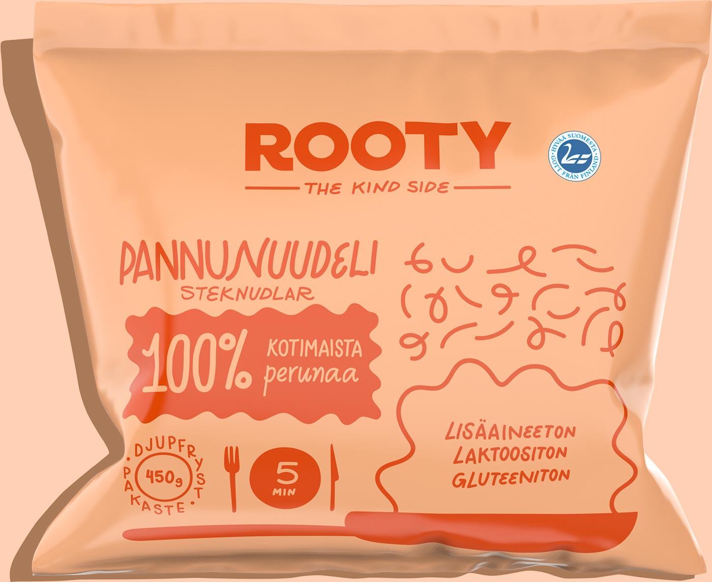 Rooty - pannunuudeli
